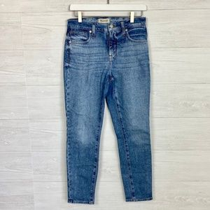 "Madewell 9"" High Rise Skinny Jeans Size 26"